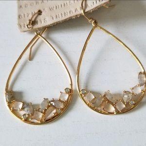 Anthropologie Statement Drop Earrings